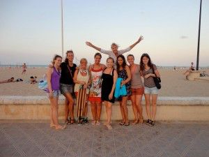 Gruppi scolastici a Valencia 1