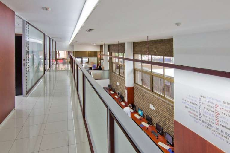 the inside of the school AIP Language Institute